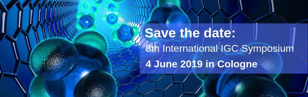 Save the date IGC Symposium 2019